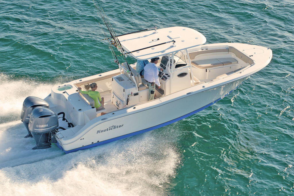 the nauticstar 28xs offshore fishing and pleasure boat