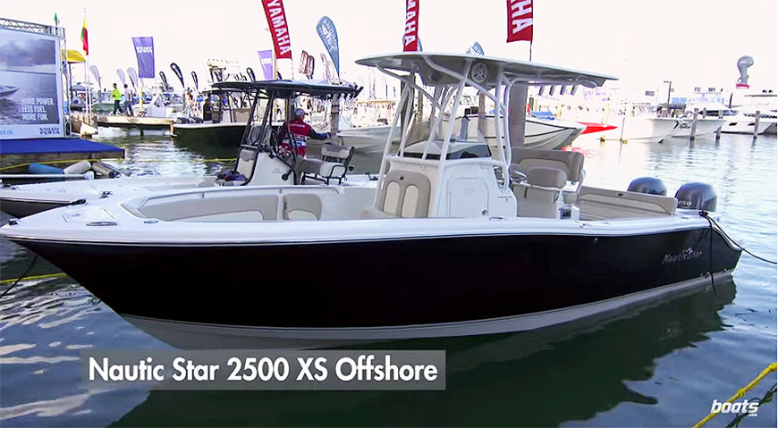 Boats dot com reviews the NauticStar 2500 XS