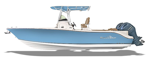 Rendering of NauticStar Legacy boat